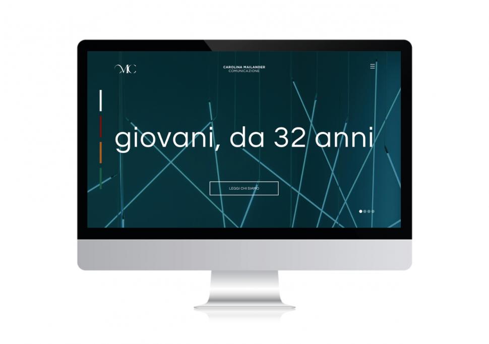 Carolina Mailander nuovo sito
